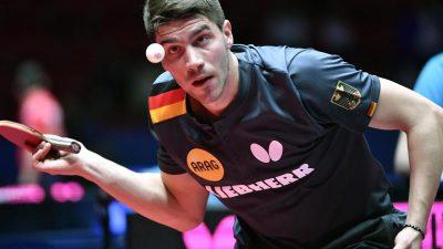 Deutschte Tischtennis-Stars vorzeitig im WM-Viertelfinale