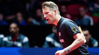 Deutsches Tischtennis-Team im WM-Halbfinale
