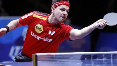 Deutsches Tischtennis-Team erreicht WM-Finale gegen China