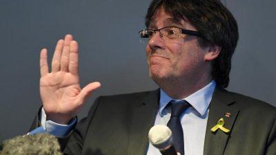 """Paukenschlag: Kataloniens Ex-""""Putschist"""" Puigdemont darf bei Europawahl im Mai antreten"""