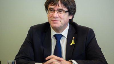 Belgische Justiz prüft europäische Haftbefehle gegen Katalanen-Politiker
