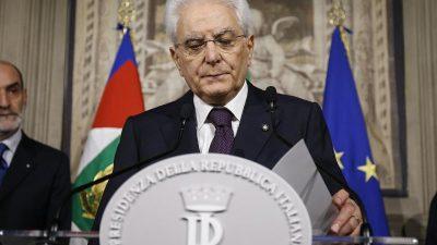 Regierungsbildung in Italien unter Conte: Fünf Sterne und Lega einigen sich erneut