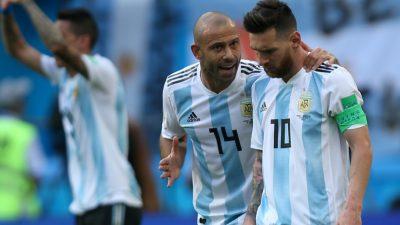 Argentinien: Mascherano und Biglia erklären Rücktritt aus Nationalmannschaft