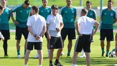 WM 2018:  Deutschland gegen Mexiko Live im ZDF – Löw lässt Einsatz von Özil offen – Draxler von Beginn an