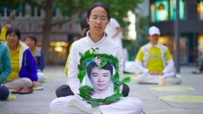 Falun Dafa-Parade mitten im Herzen von Frankfurt: Meditation und Organraub – die zwei Gesichter Chinas + Video