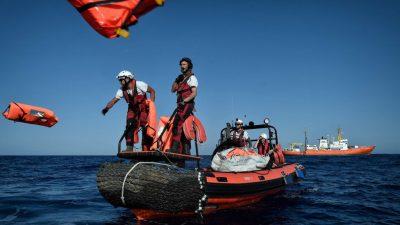 """""""Aquarius"""" sucht wieder einen sicheren Hafen – Italien erlaubt kein Anlanden"""