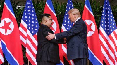 """Kim rühmt in Brief """"epochalen Fortschritt"""" in Beziehungen zu den USA"""