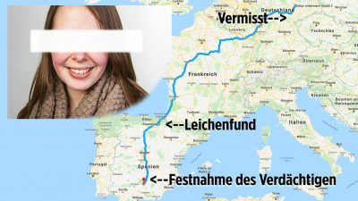 Mordfall Sophia: Mutmaßlicher Mörder der Tramperin soll nach Deutschland ausgeliefert werden