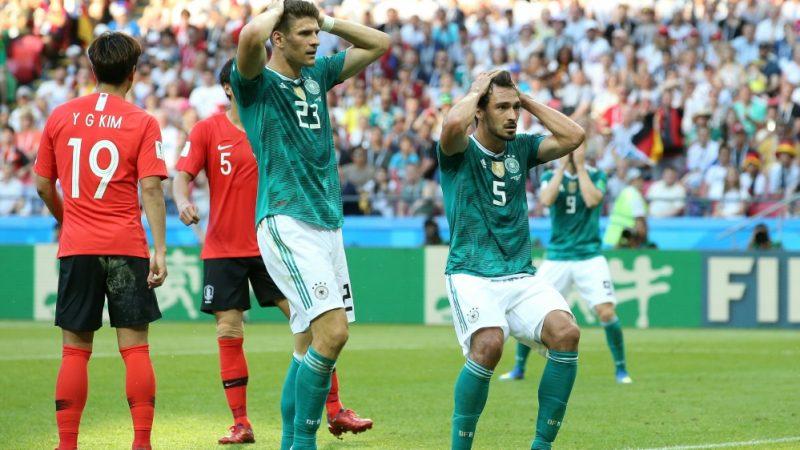 Peinliches Aus In Der Vorrunde Weltmeister Deutschland Erleidet Wm