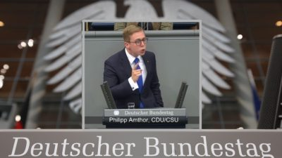 """""""Keiner von uns Moslem, der das nicht singen kann"""": CDU-Jungstar Amthor des """"Rassismus"""" verdächtigt"""