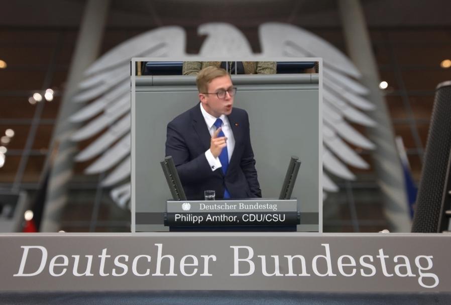 """Migration über """"aufgedrängte Seenot-Rettung"""": CDU-Amthor fragt im hitzigen Bundestag nach """"linken Helden"""" Macron, Tsipras und Sànchez"""