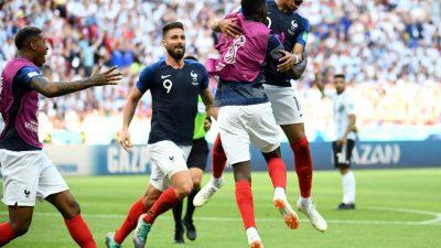Mbappe überstrahlt Messi: Frankreich wirft Argentinien raus