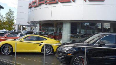 Porsche dementiert kompletten Verkaufsstopp in Europa
