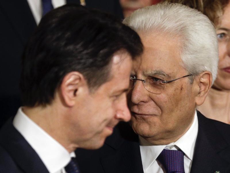 Mattarella beginnt mit Gesprächen über neue italienische Regierung