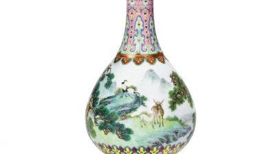 Dachbodenfund: Vase für 16 Millionen Euro versteigert