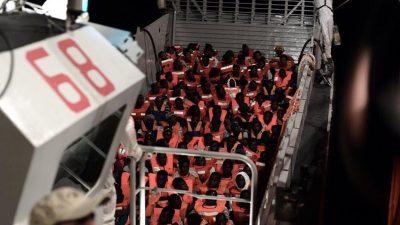 """Rom schiebt London Verantwortung für """"Aquarius""""-Migranten zu"""