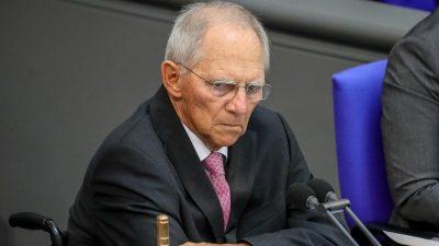 Schäuble: Staat hat Gefahr durch Rechts-Terror unterschätzt