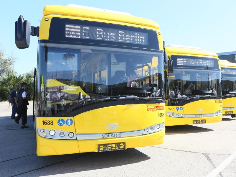 Diesel statt E-Mobilität: Winterkälte legt Berliner E-Busse lahm