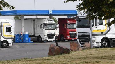 Rheinland-Pfalz: Aus LKW gerettete Eritreer fast alle untergetaucht