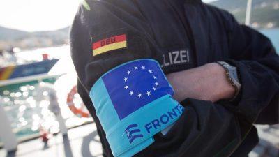 EU-Grenzschutzbehörde Frontex plant Aufstockung auf 10.000 Beamte