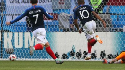 Frankreich nach 4:3 gegen Argentinien weiter