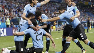 Uruguay im Viertelfinale – WM-Aus für Cristiano Ronaldo
