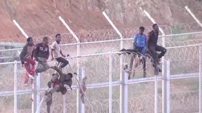 Neue Migrantenwelle: 50.000 Schwarzafrikaner auf dem Weg nach Spanien