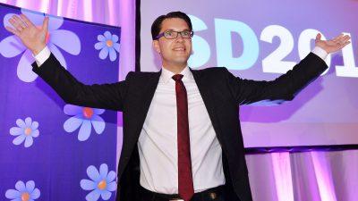 Schweden vor den Wahlen: Verfehlte Migrationspolitik der Sozialdemokraten beschert Konservativen Umfragehoch