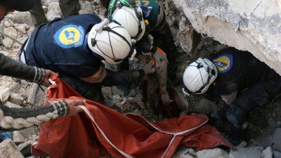 """""""Frontorganisation für Terroristen"""": Syrische Regierung kritisiert Evakuierung von Weißhelmen durch Israel"""