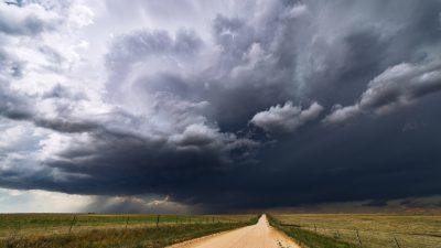 Deutsche Wetterdienst warnt vor Gewittern im Nord- und Südosten Deutschlands