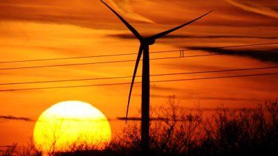 Windkraftanlagen-Geräusche vermindern REM-Schlaf