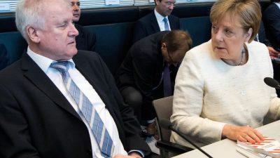 Seehofer erklärt Konflikt mit Merkel für beendet