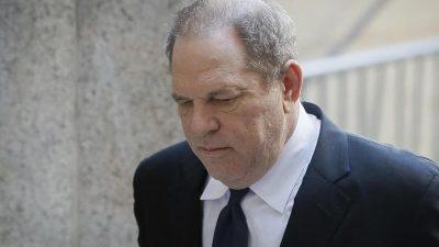 Neue Anklage wegen Sexualverbrechen gegen Ex-Filmmogul Harvey Weinstein erhoben