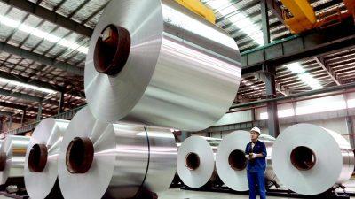 EU verhängt Strafzölle auf Aluminiumimporte aus China