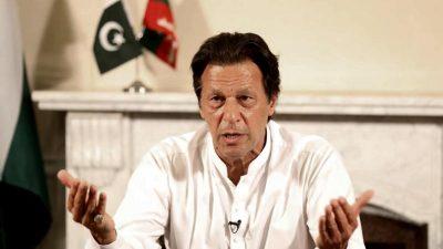 """Pakistans Regierungschef Khan bezeichnet Indien als """"Unterdrücker und Aggressor"""""""