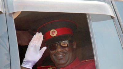 Völkermord in Namibia: Herero-Chef von Zeremonie ausgeladen