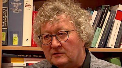 Dresdner Politik-Professor Werner J. Patzelt analysiert die Lage der Nation