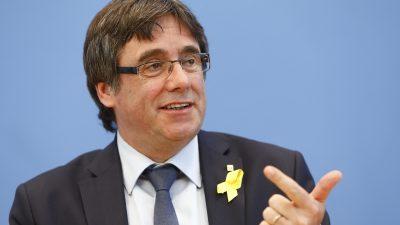 Katalanischer Unabhängigkeitsführer Puigdemont bricht mit seiner Partei