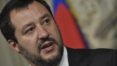 """Italiens Innenminister Salvini verurteilt """"brutale und bestialische Gewalt"""" gegen Magnitz"""