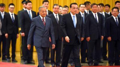 """Malaysia sagt zwei Megaprojekte von Chinas """"Neuer Seidenstraße"""" ab"""