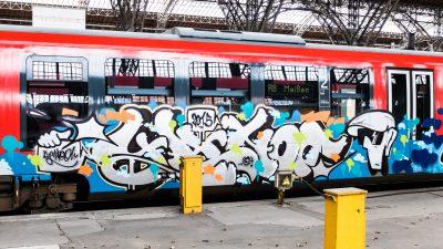 Graffiti-Sprüher aus dem Ausland zieht es nach Berlin
