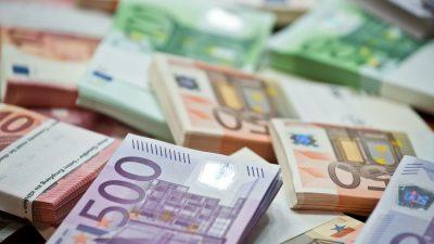500.000 Euro Arbeitslosengeld im Supermarkt ausgezahlt