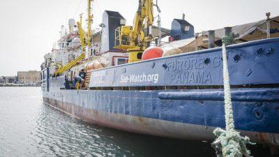 """Rettungsschiff """"Sea-Watch 3"""" aus Malta ausgelaufen"""