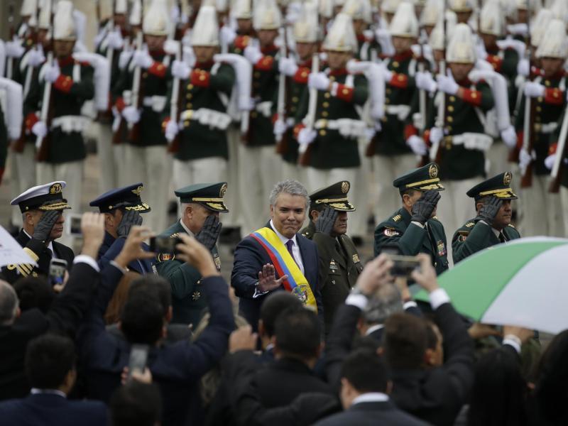 Korrigieren, was nötig ist: Kolumbiens konservativer Präsident Duque tritt Amt an