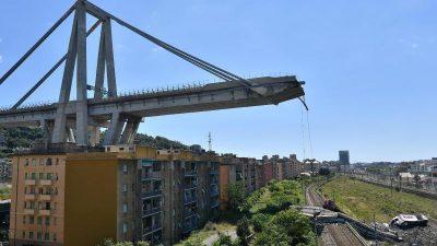 Morandi Autobahnbrücken-Unglück: Verantwortliche ab Oktober vor Gericht