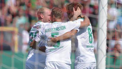 Bremen nach Pokal-Spaziergang mit Lust auf Bundesliga