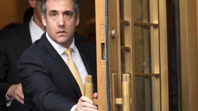 Trumps Finanzchef erhält Immunität in Cohen-Ermittlungen