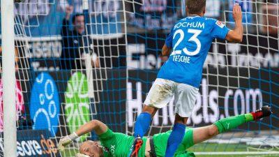 Nach peinlichem Pokal-Aus:Bochum besiegt Sandhausen