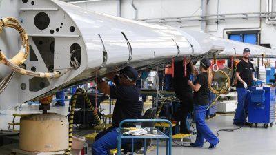 Airbus setzt wegen Corona-Krise Produktion in Bremen und Stade aus