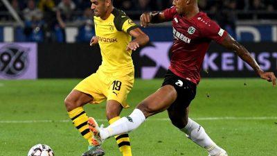 Dortmund verpasst zweiten Saisonsieg – 0:0 in Hannover